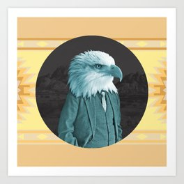 Mr. Eagle Art Print