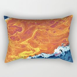 Birth of an Island Rectangular Pillow