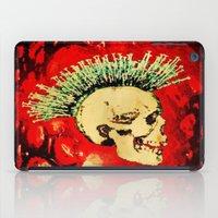 health iPad Cases featuring MENTAL HEALTH - 025 by Lazy Bones Studios