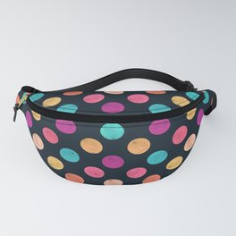 Watercolor Dots Pattern VI Fanny Pack