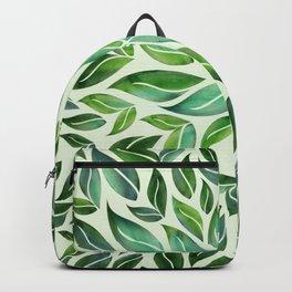 Spring Leaf Mandala Backpack