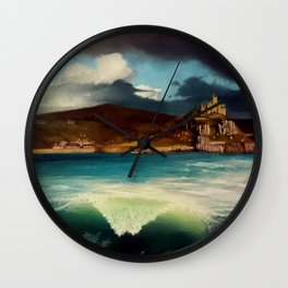 Silence after the Storm Wall Clock