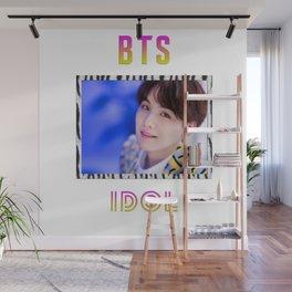 BTS Song IDOL Design - Suga Wall Mural