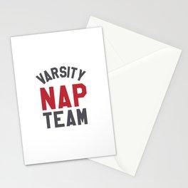 Varsity Nap Team Stationery Cards