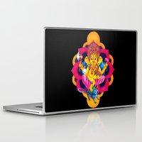 ganesh Laptop & iPad Skins featuring Ganesh by missfortunetattoo