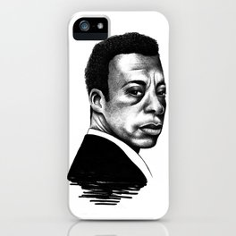 James Baldwin iPhone Case