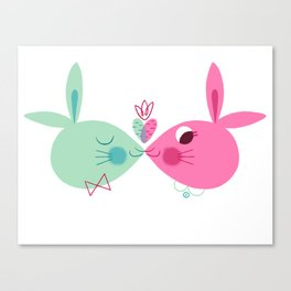 Some Bunny Loves You Canvas Print