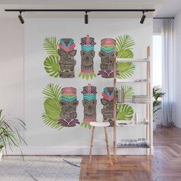 Tiki Party Wall Mural
