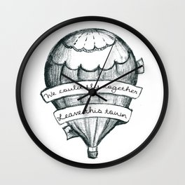 Fly Together Wall Clock