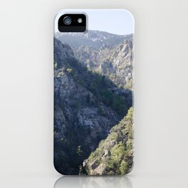 Soaring Mountains iPhone Case