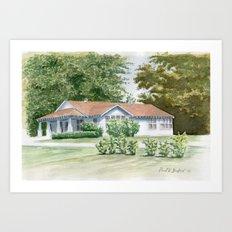 Buford Home Art Print