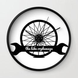 bike orphanage logo Wall Clock
