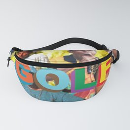 collage tyler the head Fanny Pack