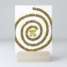 Student Pi Sign Number College Math Teacher Gift Mini Art Print
