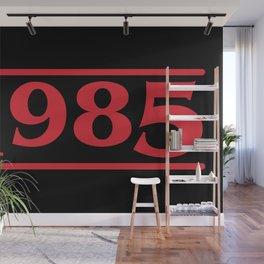 Strange 1985 Wall Mural