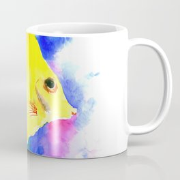 Yellow Angelfish Coffee Mug