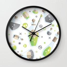 I Swear It's Not Poison Wall Clock