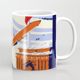 Yosemite Winter Sports Travel Coffee Mug