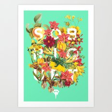Flora Tropical. Art Print