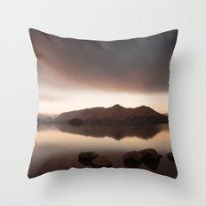 Cat Bells - Derwentwater Throw Pillow
