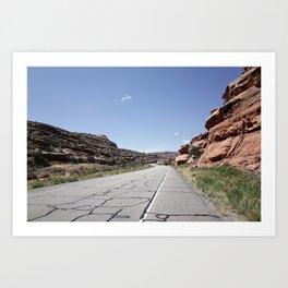 Canyonland Climb Art Print