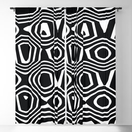 Retro Blackout Curtain