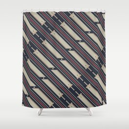 Business Buster Shower Curtain