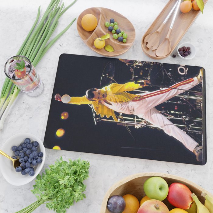 band queen Cutting Board