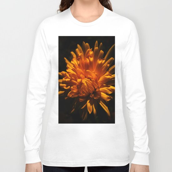 Autumn Flower Long Sleeve T-shirt