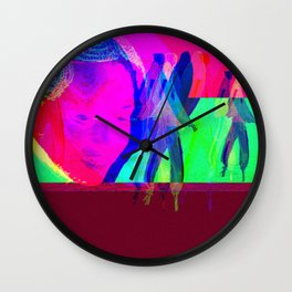 ancestral knowledge Wall Clock