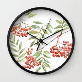 Miss Rowanberry Wall Clock