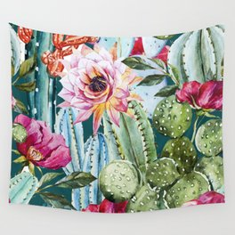 Suculents Wall Tapestry