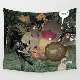 Zoophobia Wall Tapestry