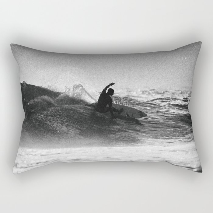 Iconic Indo Surfer Rectangular Pillow