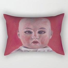 Doll portrait Rectangular Pillow