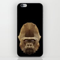 gorilla iPhone & iPod Skins featuring Gorilla by Taranta Babu