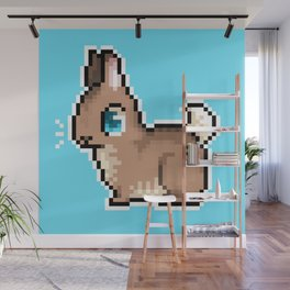 Tiny Flemish Giant Wall Mural