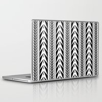 moroccan Laptop & iPad Skins featuring Moroccan Stripes by Caitlin Workman