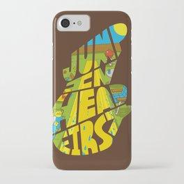 Jump In Head First iPhone Case