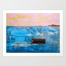 Solitude: Italy Art Print