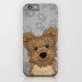 Huey-Yorkie iPhone Case