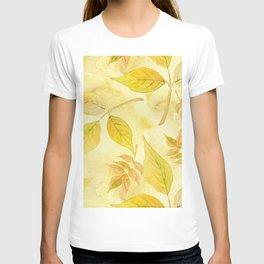Autumn Leaf Pattern 10 T-shirt