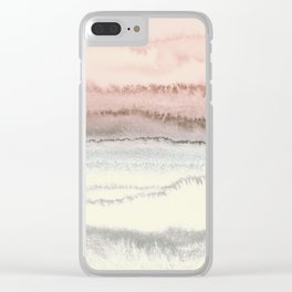 WITHIN THE TIDES - SNOW ON THE BEACH Clear iPhone Case