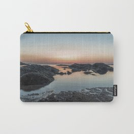 Plum Cove Sunset Carry-All Pouch