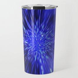 Exploding Star Travel Mug