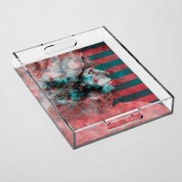 Wonder Into The Future Acrylic Tray