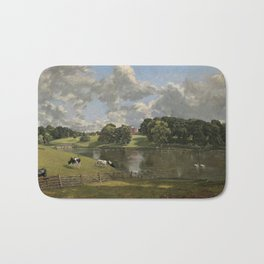John Constable Wivenhoe Park, Essex 1816 Painting Bath Mat