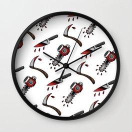 weapons flash sheet Wall Clock