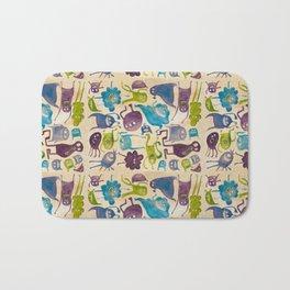 Critter pattern cool Bath Mat