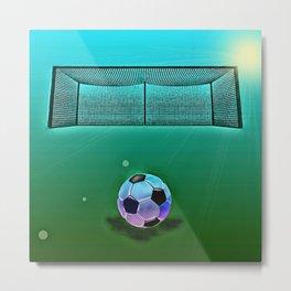 Soccer 2 Metal Print